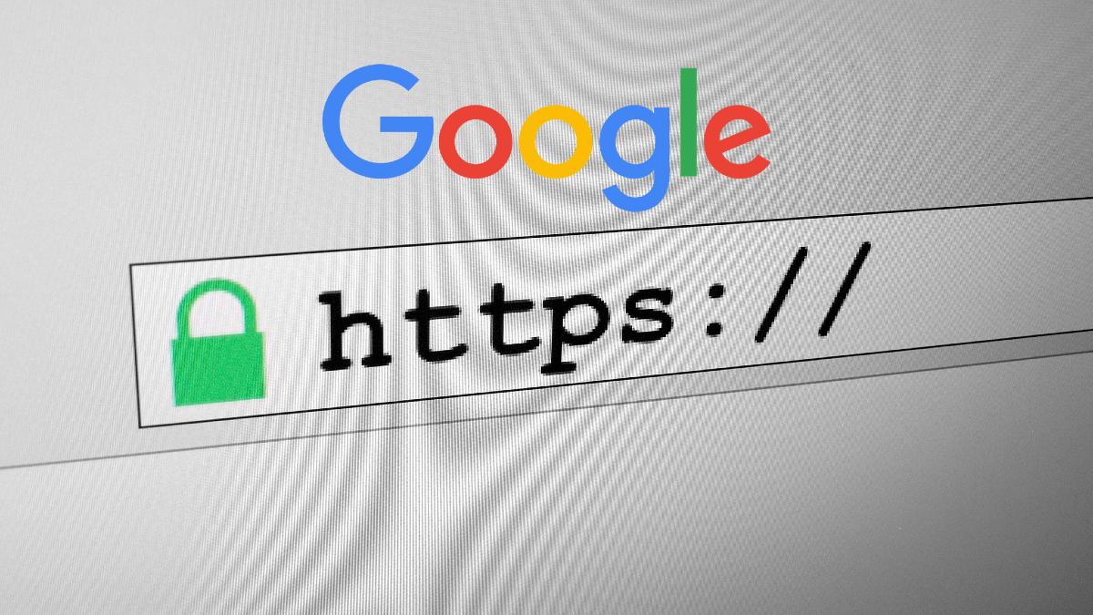 Barra indirizzo browser con logo Google
