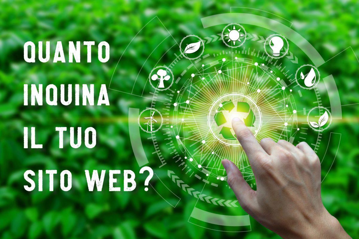 quanto inquina il tuo sito web