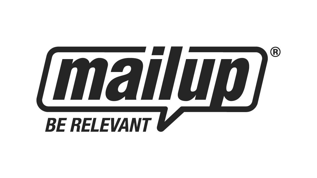 Logo di Mailup per la partnership AvantGrade