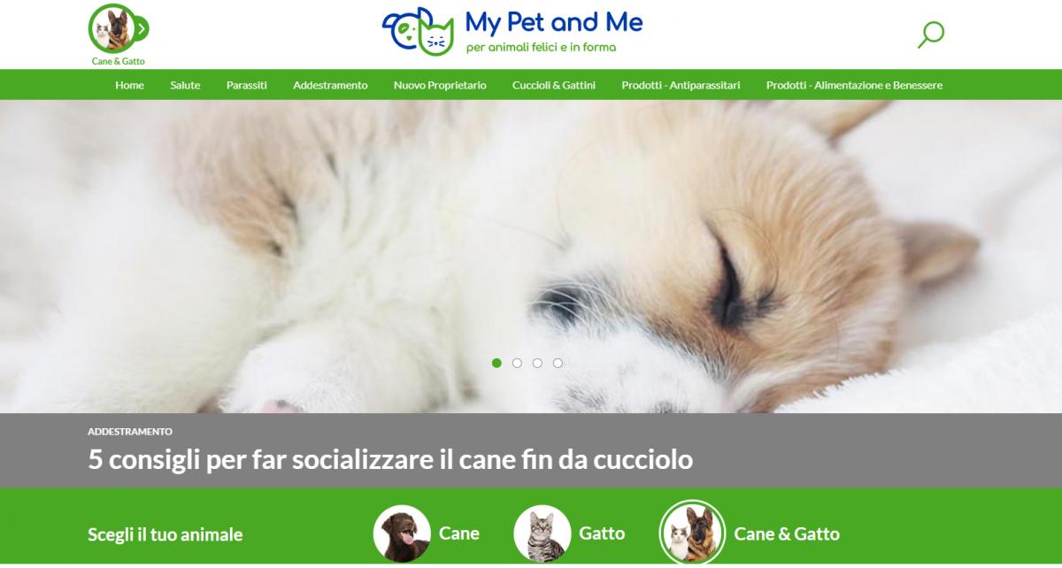 My Pet and Me, il nuovo sito Bayer dedicato a cani e gatti