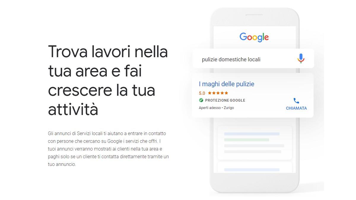 Google porta gli annunci locali in Italia