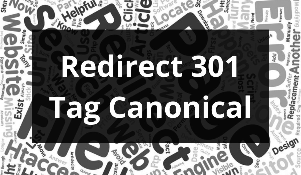 Redirect 301 e Tag Canonical