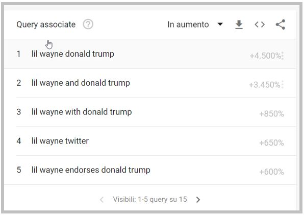 Elezioni USA query associate
