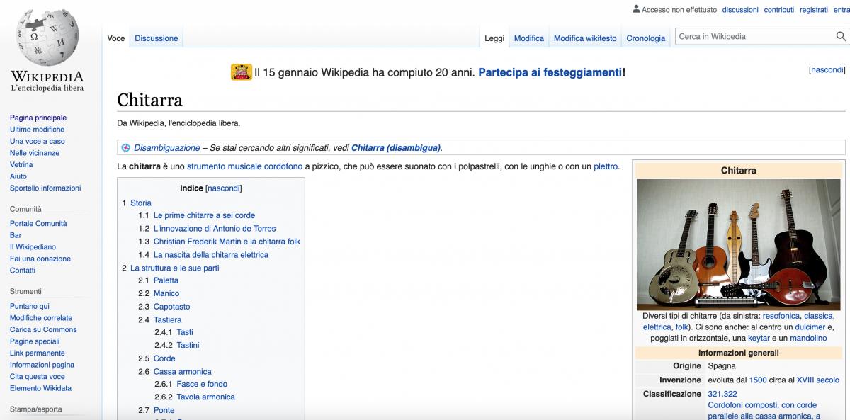 Consultare Wikipedia