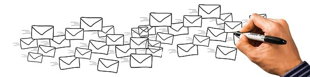 email spam disegnate