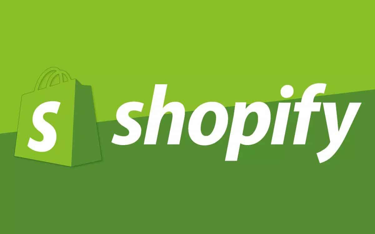 Logo di Shopify