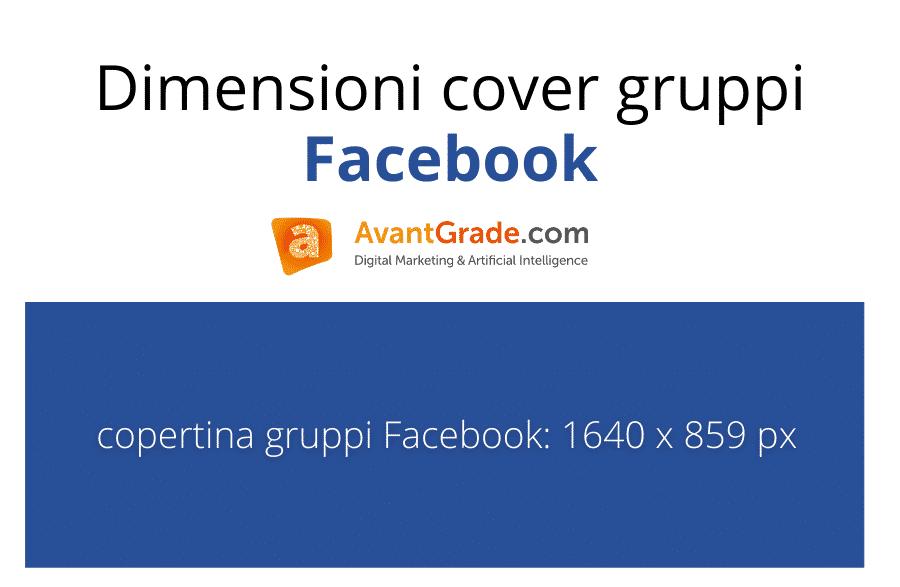 Dimensioni immagini Facebook: misura copertina gruppi Facebook