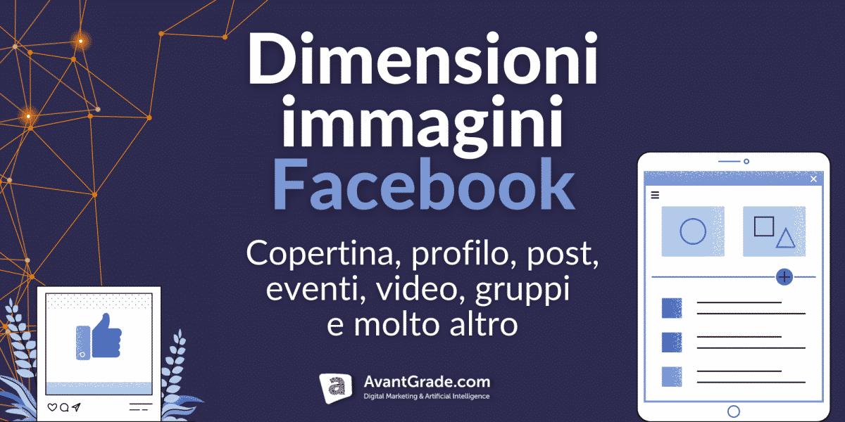 Dimensioni immagini social Facebook 2021