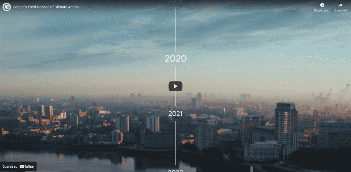 Google Carbon Neutrality video