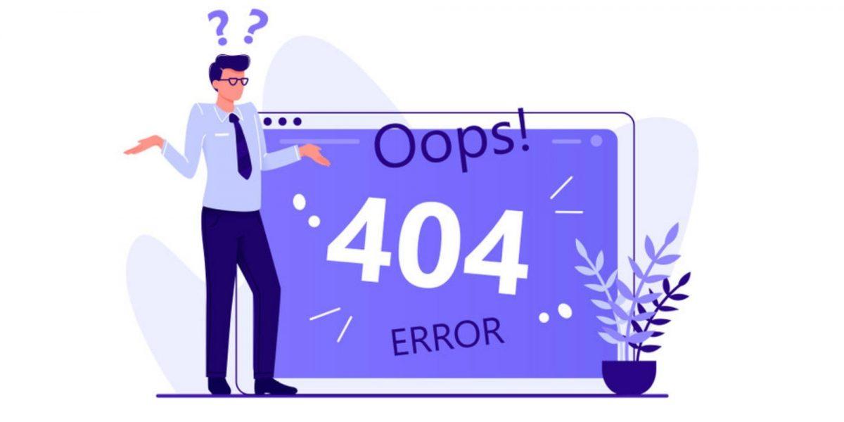 errore 404: di cosa si tratta