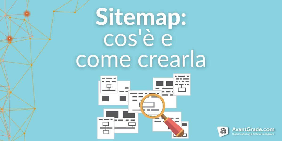 sitemap: cos'è e come crearla